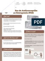 Pastilla Anticoncepción Emergencia Ficha-Informativa