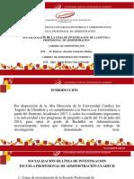 Matriz de La Linea de Investigacion - Socializacion de La Linea de Investigacin