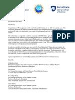 acceptance letter morris