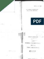Emile Durkheim - Las Formas Element Ales de La Vida_Religiosa