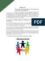 Unidad 3 Introducción a Las Ciencias Sociales