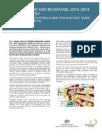 AANZFTA Food and Beverage Flyer 2016-2018
