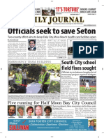 San Mateo Daily Journal 10-16-18 Edition