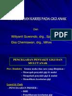 Pencegahan Karies Pada Gigi Anak.ppt