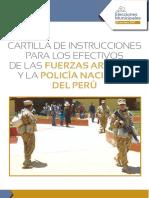 Cartilla FFAA PNP