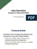 1_Data Operation - Pendahuluan