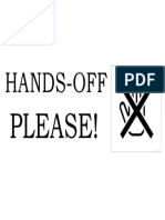 hands off signage.docx