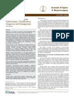 Craniocervical Trauma Eidemiology Classification Diagnosis and Management BdYm