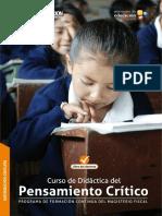 Curso de Didáctica Del. Pensamiento Crítico-leer