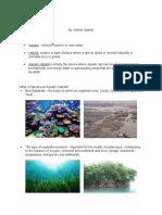 Written Report in Ecology