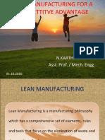 Presentation on Lean Manufacturing