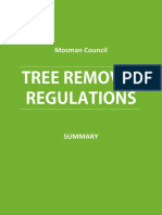 Tree Removal Mosman Council Regulations - Summary[1]