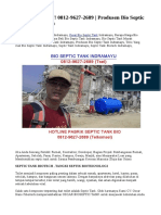 SUPER HEMAT! 0812-9627-2689 | Produsen Bio Septic Tank Indramayu