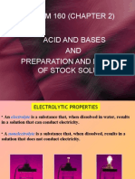 Chapter 3-Acid n Base,Preparation and Dilution