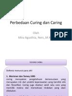 Perbedaan Curing Dan Caring