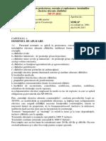 I7-2011 Normativ Pentru Proiectarea, Execuția Şi Exploatarea Instalaţiilor Electrice Aferente Clădirilor