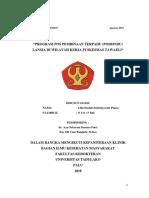 Laporan Manajemen Posbindu Puskesmas Birobuli (1)