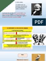 Marx y Comte
