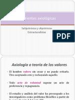 Corrientes Axiológicas de los Derechos Humanos