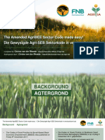 The Amended AgriBEE Sector Code Made