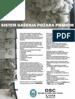 Sistem Gasenja Pozara Prahom