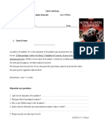 Test Initial Lb. Franceza 8