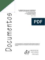 """El Régimen Fiscal de Las """"Economías de Opción"""" en Un Contexto Globalizado"""