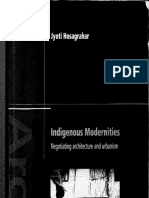 Indigenous Modernitites Hosagrahar 2005