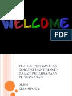 Tujuan Pengawasan Korupsi Dan Prinsip Dalam Pelaksanaan Pengawasan dalam Keperawatan