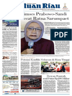 haluan riau Kamis,04 oktober 2018