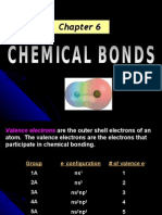 Chapter 6 -Chemical Bonds