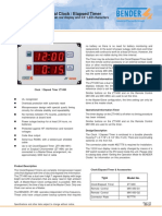 Timers and Clock ZT1490