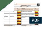 location risk assessment sheet