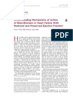 Understanding Mechanisms of Action of Beta-belockers in Heart Failure With Reduced an Preserved Ejection Fraction