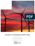Reliability Wind Condensed