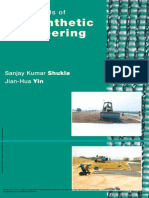 Fundamentals of Geosynthetic Engineering - Sanjay Kumar Shukla & Jian Hua Yin
