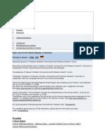 njemački ustav