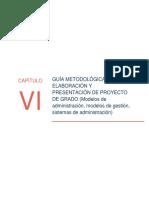 Guías Metodológicas Adm Cap Vi Modelos Sistemas 2017