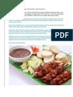 Manjakan Lidah Anda Dengan 7 Resep Sate Ayam Nusantara