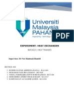 Full Lab Report Tube Shell Heat Exchanger 2