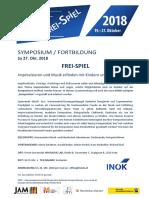 FREI-SPIEL Symposium  2018