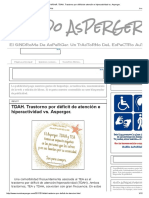 MuNDo AsPeRGeR_ TDAH. Trastorno Por Déficit de Atención e Hiperactividad Vs