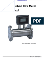 SGW Gas Turbine Meter and Natural Gas Flow Meter