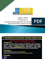 Matkul - AKPD Pertemuan 8 Pelaksanaan Belanja Dan Pembuatan SPJ