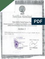 Akreditasi Universitas Muhammadiyah Makassar Program Studi Agribisnis