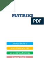 03 Matrix Matematika Terapan Kuliah 1 22 Sept