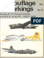 Camouflage & Markings - 13 - Boeing B-17 Flying Fortress