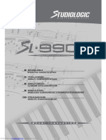 Studiologic SL-900 XP manual (PDF)