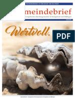 Gemeindebrief 2018 10 Herbst - 23. Ausgabe