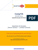 CompTIA Security+ SY0-501 Exam - Real Exam Questions